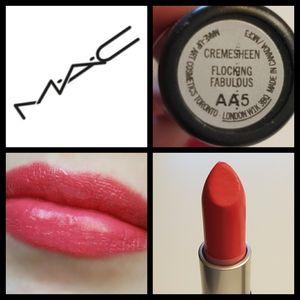 MAC creamsheen lipstick